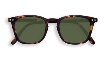 "IZIPIZI Forme ""E"" Tortoise Green Lenses Dioptries: sans"