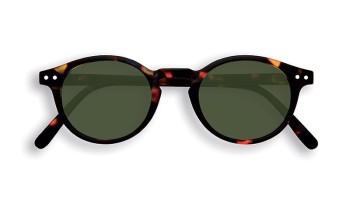 "IZIPIZI Forme ""H"" Tortoise Green Lenses Dioptries: sans"