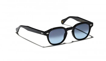 Moscot Custom Made Tints LEMTOSH SUN Black - Blue Denim
