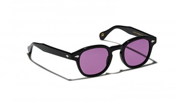 Moscot Custom Made Tints LEMTOSH SUN Black - Purple Murple