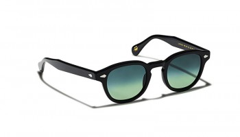 Moscot Custom Made Tints LEMTOSH SUN Black - Forest Wood