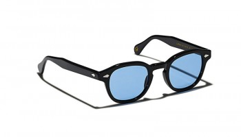 Moscot Custom Made Tints LEMTOSH SUN Black - Celebrity Blue