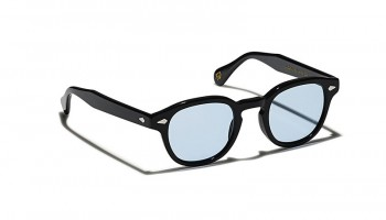 Moscot Custom Made Tints LEMTOSH SUN Black - Bel Air Blue