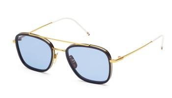 Thom Browne TB-800 Navy Gold