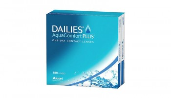 Dailies Aquacomfort + X180 Alcon