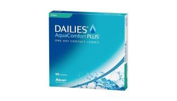 Dailies Aquacomfort + Toric X90 Alcon