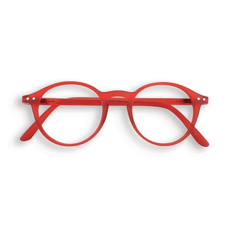 "IZIPIZI #D Forme ""D"" Red"
