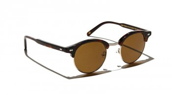 Moscot AIDIM SUN Burnt Tortoise/Gold - Brown
