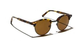 Moscot AIDIM SUN Classic Havana/Gunmetal - Brown