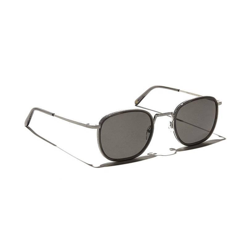 Moscot DRIMMEL SUN Grey/Silver - Grey