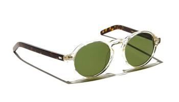 Moscot GLICK SUN Flesh/Tortoise - Calibar Green