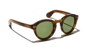 Moscot KEPPE SUN Dark Blonde - Calibar Green