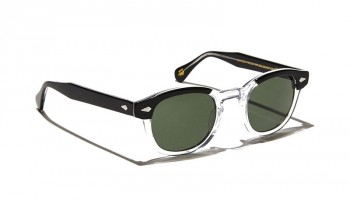 Moscot LEMTOSH SUN Black Crystal - G15