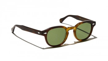 Moscot LEMTOSH SUN Tobacco - Calibar Green