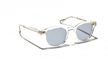 Moscot LEMTOSH TT SE SUN Crystal/Gold - Blue
