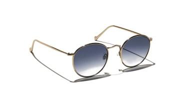 Moscot ZEV TT SE SUN Gold - Navy Blue Gradient