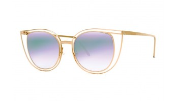 Thierry Lasry Eventually 800 Matte Gold w/ Multicolor Mirror