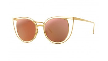 Thierry Lasry Eventually 900 Gold w/ Pink Mirror