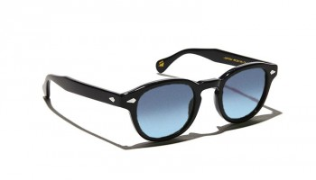 Moscot LEMTOSH SUN Black - Blue Gradient custom