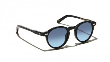 Moscot Custom Made Tints MILTZEN SUN Black - Blue Gradient