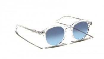 Moscot Custom Made Tints MILTZEN SUN Crystal - Blue Gradient